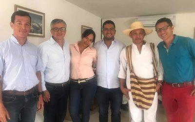 Con pueblos indígenas, Alcaldía y Viceministerio de Turismo concertaron política de turismo en la Sierra Nevada
