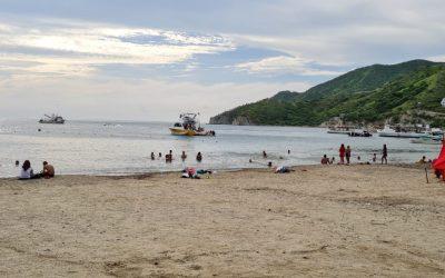 Más de 8 mil personas volvieron a las playas en Santa Marta
