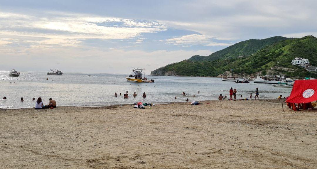 Distrito permite apertura de playas este martes en Santa Marta