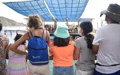 Más de 250 niños cumplen su sueño de conocer el Acuario
