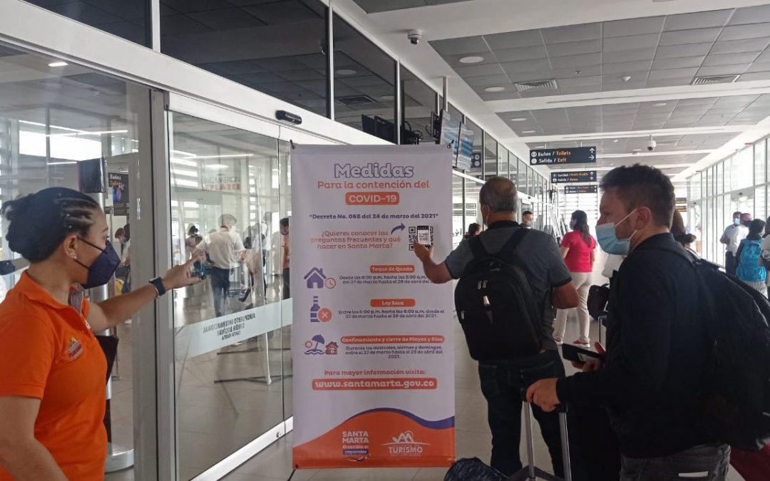 Indetur socializa medidas de prevención entre samarios y turistas