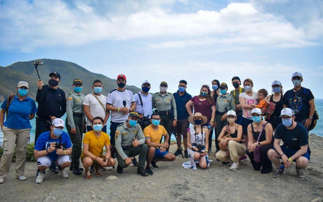 Santa Marta presenta su oferta turística a periodistas nacionales