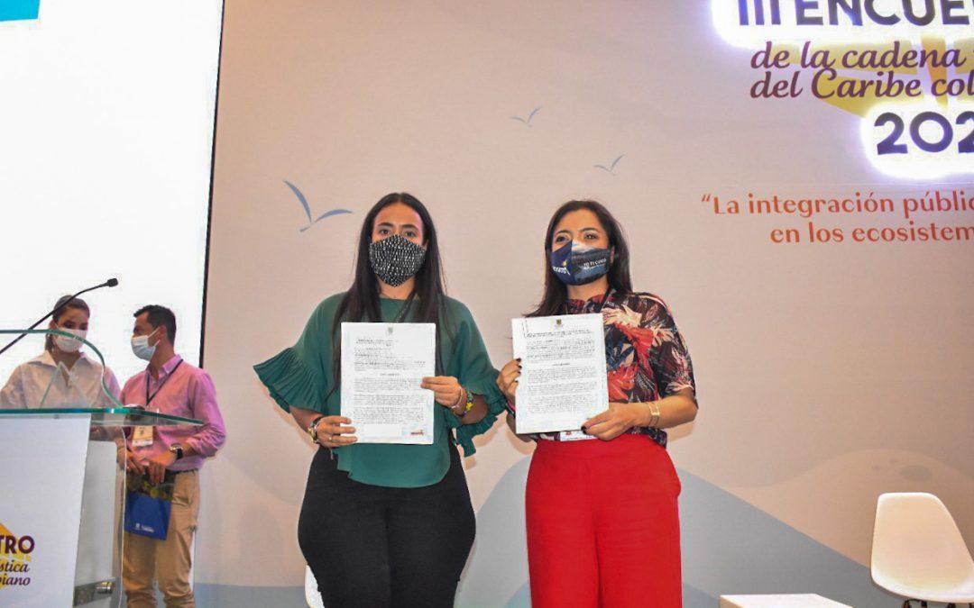 Santa Marta y Bogotá suman esfuerzos para fortalecer agenda turística